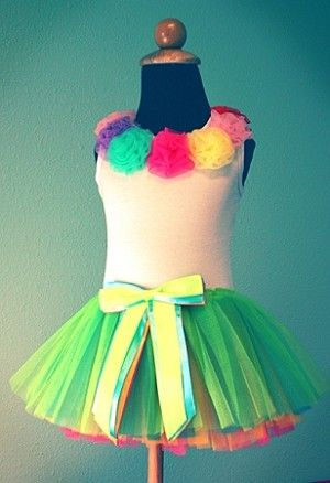 Rainbow Tutu. such a cute 1st birthday outfit!