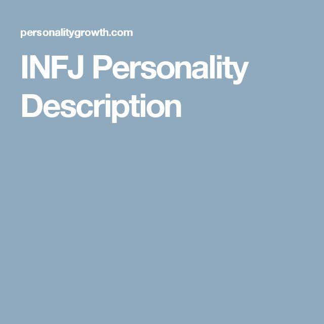 INFJ Personality Description