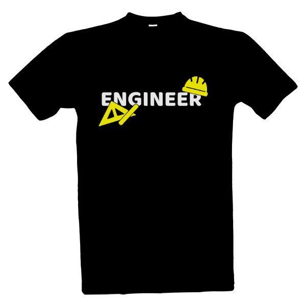 Tričko s potiskem Engineer