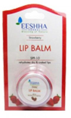 Eeshha Herbal Lip Care Strawberry Lip Balm SPF 10
