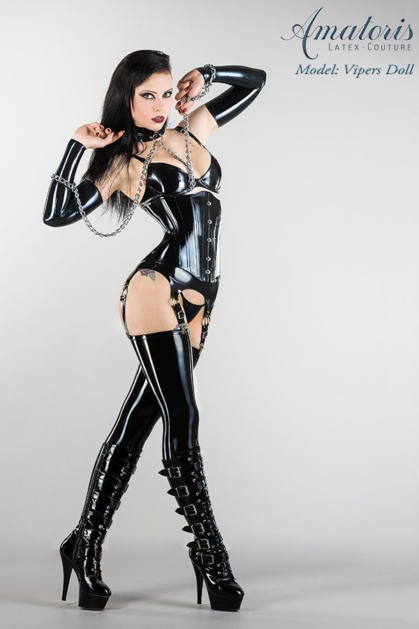Vipers Doll Latex-Corset-Outfit by AmatorisLatexCouture ♥ thedeliciousness.net (18+) ♥