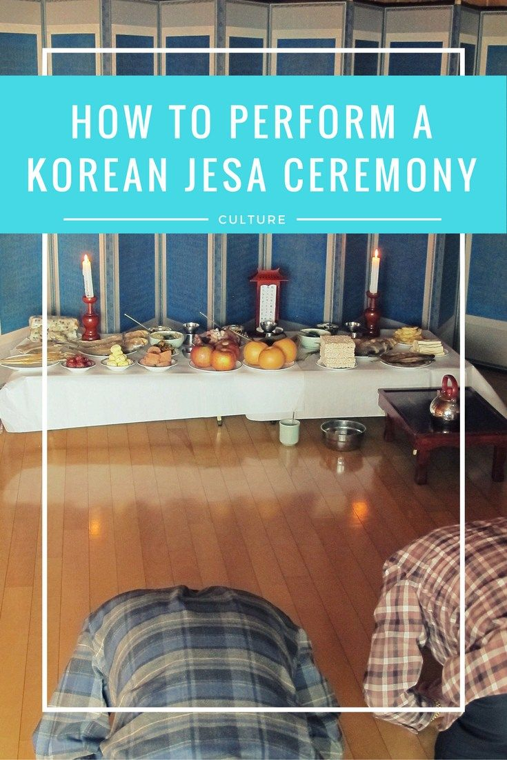 How To Perform A Korean Jesa Ceremony. This Korean traditional ceremony is commonly done on the Lunar New Year (Seollal) and Korean Thanksgiving (Chuseok). Here is the complete guide to how to perform this Korean rite.