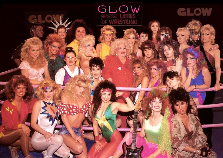 GLOW (Gorgeous Ladies of Wrestling) 1985