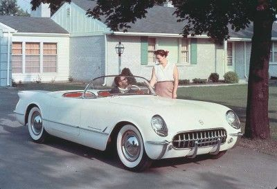 When the first Corvette rolled out in 1953, the idea of the sports car   hadn't yet caught on with most Americans.