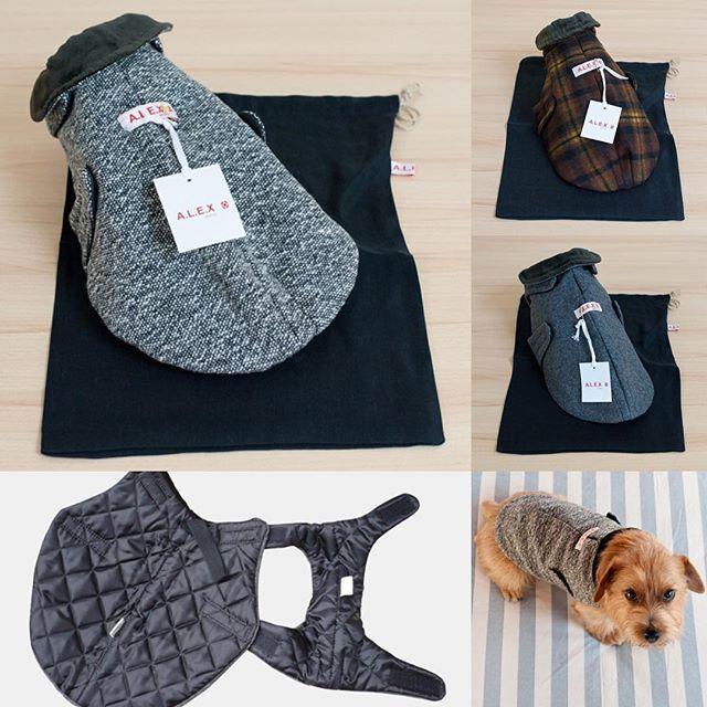 フランス製の犬のコート「A.L.E.X PARIS」の3タイプがアンベルソ・オンラインストア[アンベルソで検索]にてSALE(40%OFF) ⭐️残りわずかとなっておりますので売切れ表示のものはお問い合わせください。店舗の在庫を確認させていただきます。 #アンベルソ #アレックスパリ #犬の洋服 #犬のコート #チワワ #トイプードル #ノーフォークテリア #ポメラニアン