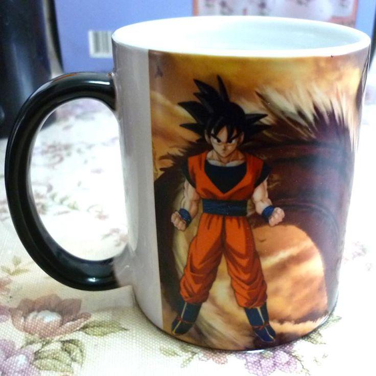 Dragonball Heat Sensitive-Color Changing Coffee Mug