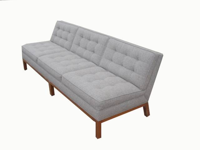 Armless Sofa For The Home Furniture Home Decor Couch