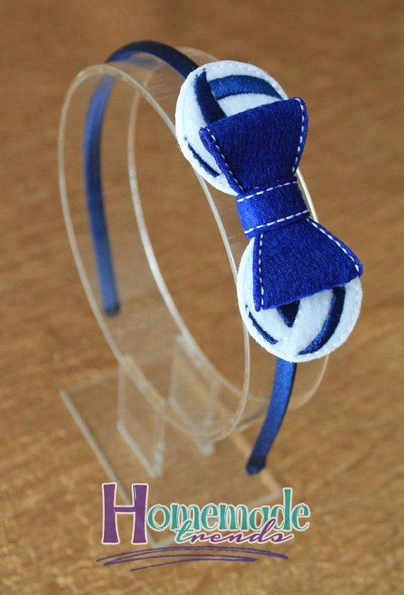Volleyball Hair Accessory-Volleyball Hair by HomemadeTrends