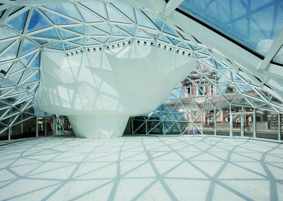 Palazzo Ex Unione Militare Rome, Italy  A project by: Massimiliano and Doriana Fuksas  Architecture