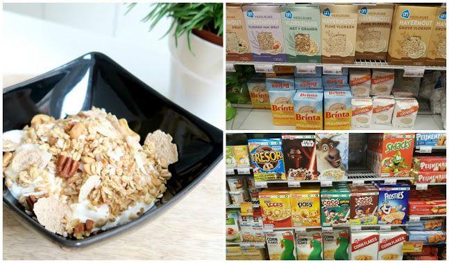 gezonde-ontbijtgranen in de supermarkt - Optima Vita