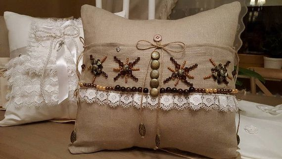 Decorative love cushion/pillow 40cm/40cm in by WhispersofAngels17