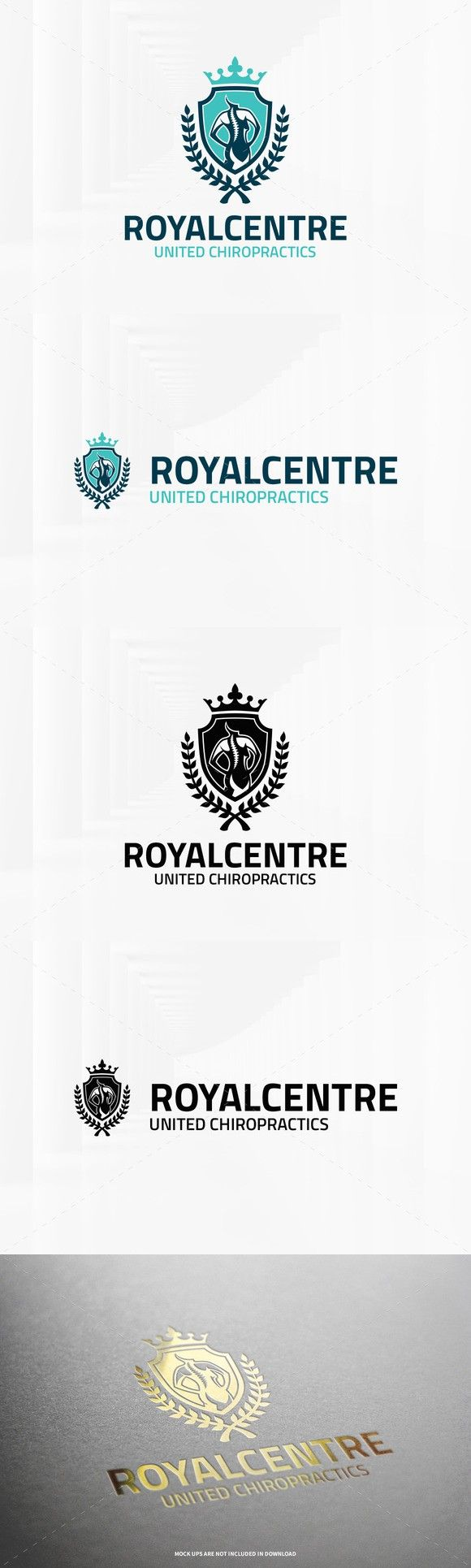 Royal Centre - Chiropractic Logo. Logo Templates. $29.00