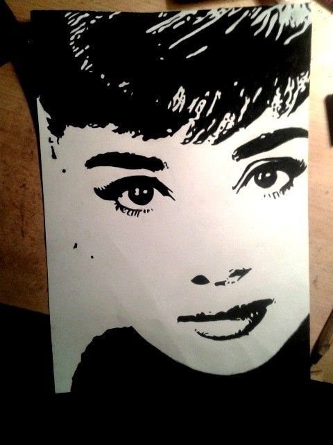 ink art woman