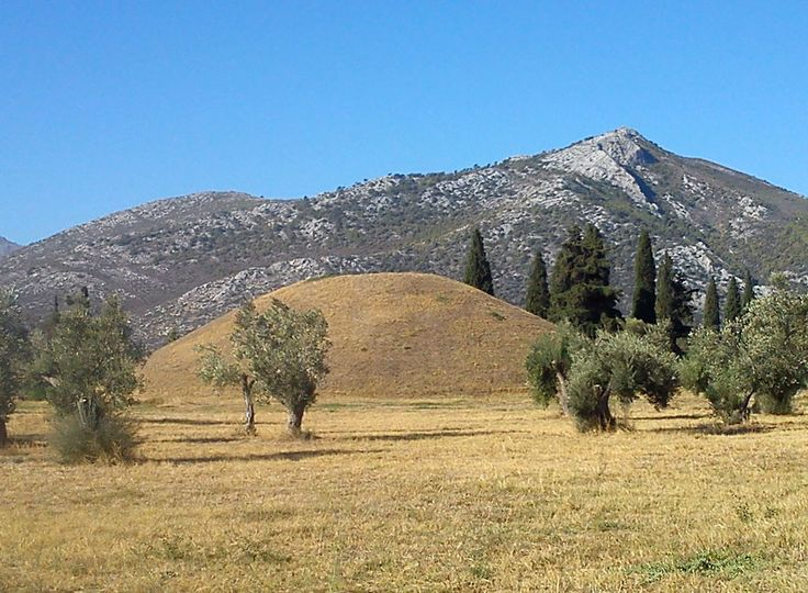Tumulus of Marathon, Greece