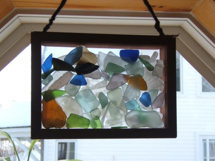 115 best sea glass crafts projects images on pinterest for Glass boxes for crafts