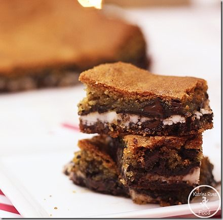 York Peppermint Patty Cookie Bars Gluten Free