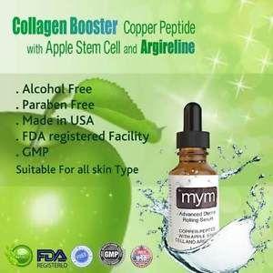 Copper Peptide Serum Derma Roller Intensive Skin Care Serum 30ml US SELLER