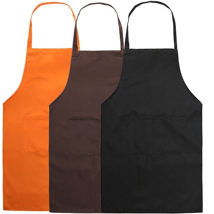 Unisex Sleeveless Cooking Baking Tools Aprons Bib with Front Pockets for Kitchen Restaurant Housework Apron delantal avental  #Affiliate