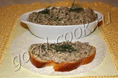 паштет из запеченных баклажанов с ореховым соусом