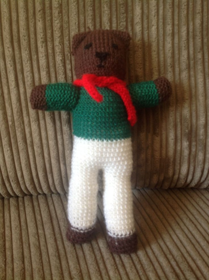 Knitted Teddy Bear Pattern For Charity : Teddy knitted for charity using the teddies for tragedies pattern. Teddies ...
