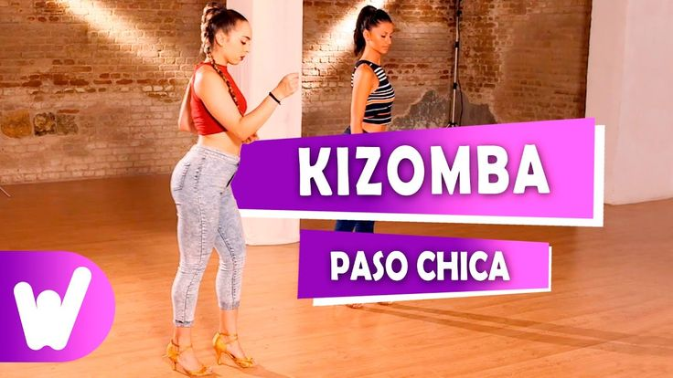 Cómo bailar Kizomba | Paso básico chica VIDEO