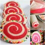 Colourful Spiral Cookies