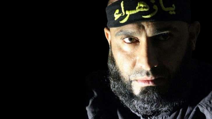 Abu Azrael, el héroe de las milicias chiíes, en una imagen de Facebook (Foto: Facebook).