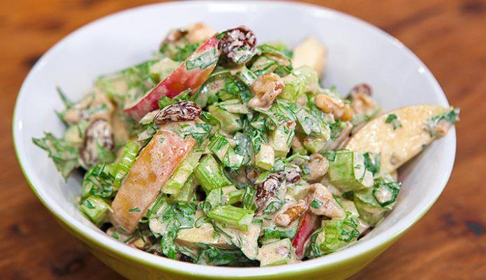 Curried Waldorf Salad - Good Chef Bad Chef