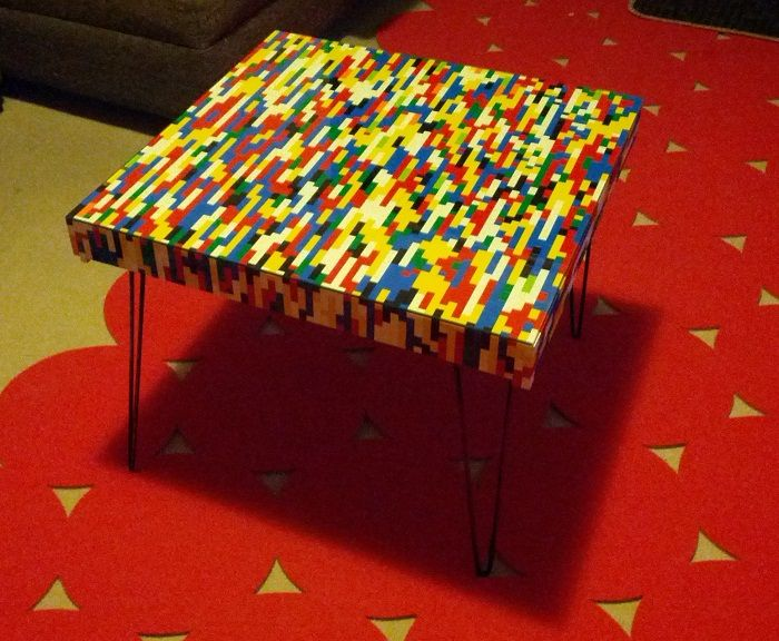 Lack Gets A LEGO Hack   IKEA Hackers   IKEA Hackers · Lego Table ...