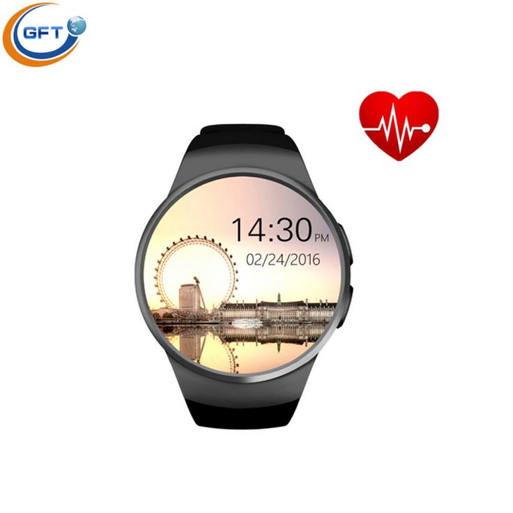 GFT kw18 Smart Watch Armbanduhr MTK2502C Bluetooth Smartwatch Mit Pulsmesser Schrittzähler Für Android IOS android wear //Price: $US $59.39 & FREE Shipping //     #meinesmartuhrende