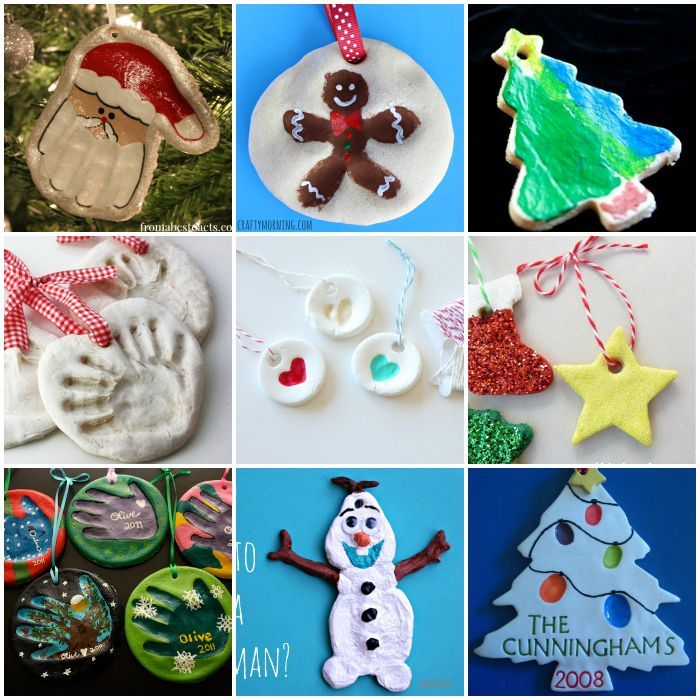 25+ Easy Salt Dough Ornaments for Kids to Make