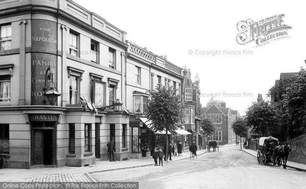 The Napoleon Hotel, Farnham Road, Guildford, 1911.
