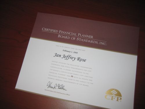 how to become a certified financial planner cfp