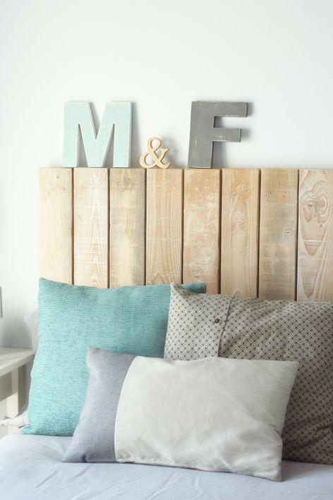 Personalizar letras de madera