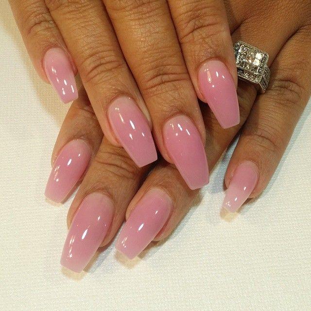 NailsDoneByErica@aol.com @shes_erica Filled & read...Instagram photo | Websta (Webstagram) #pinknails
