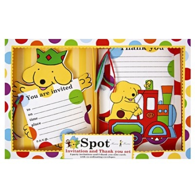 Spot the Dog Partyware - Invitations £9.06