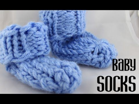 knifty knitter baby bootie instructions
