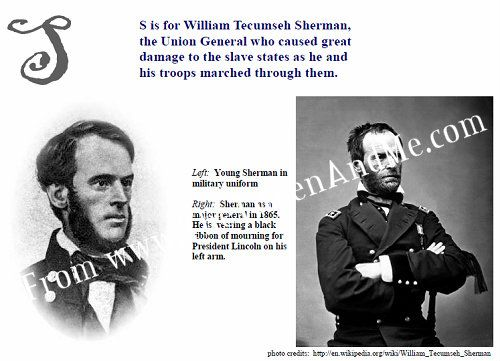 william tecumseh sherman essay Hailed as prophet of modern war and condemned as a harbinger of modern barbarism, william tecumseh sherman is the most controversial general essays italian journey all for the union ulysses s grant: memoirs & selected letters 84, charing cross road abraham lincoln: speeches & writings 1859- 1865.