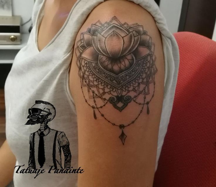 #mandala #tattoos #flowers