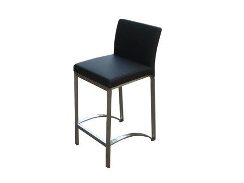 "This Bar Stool adds a sleek look to any island or bar area and is great for any home or retail space.   Dimensions: 19"" x 18"" x 40""H"