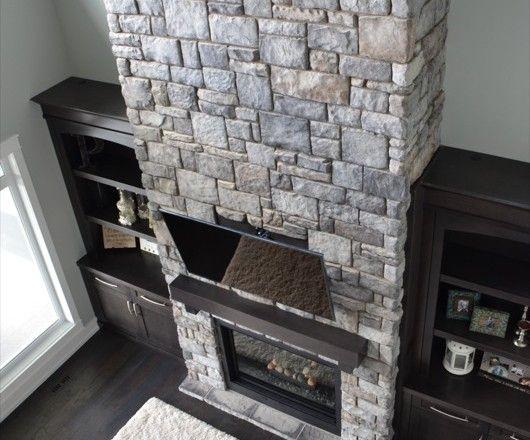 Southern Hackett & Western Ledge Blend (Color: Granite) | Kodiak Mountain Stone www.KodiakMountain.com