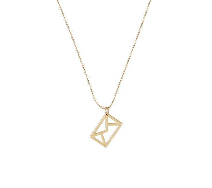 envelope necklace = yes