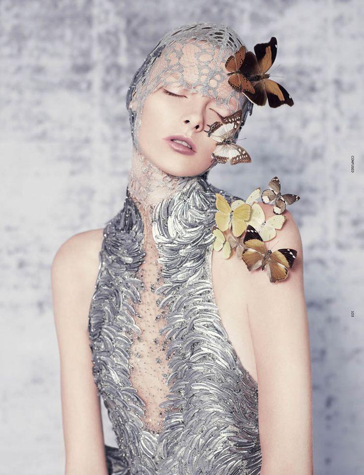 The Divine Invasion | Elza Luijendijk | Ben Toms #photography | Dazed & Confused June 2012