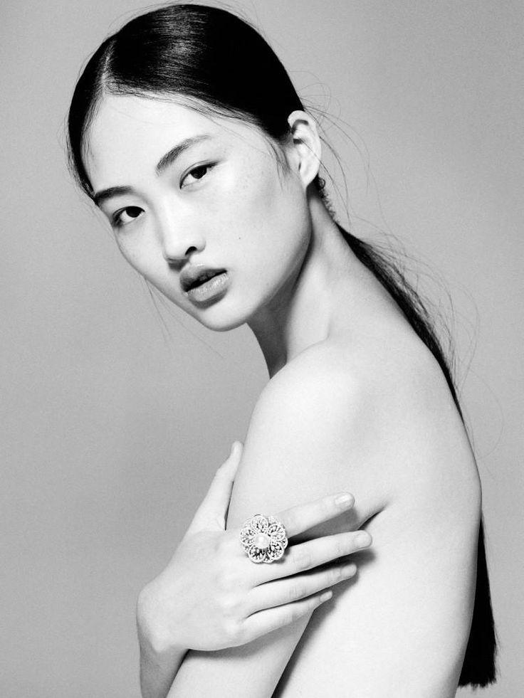 Portrait Jing Wen S/S 2013 (Portrait).  Stockton Johnson - Photographer.   Jing Wen - Model.