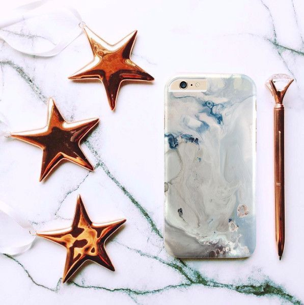 White marble case for iPhone Samsung HTC - Solomiia-Ivanytsia - Etui na telefon
