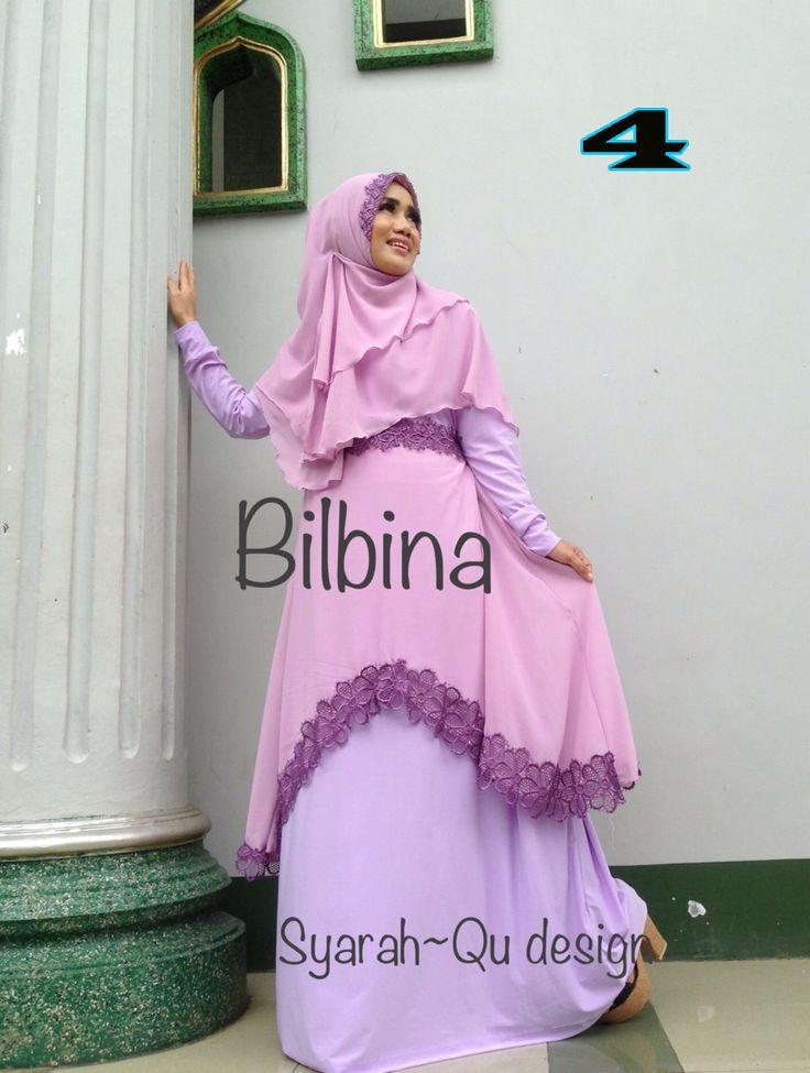 Busana Muslim Trendy Bilbina 4 | Adalah koleksi tren busana wanita dengan bahan, model dan jahitan berkualitas. Jual Grosir-Ecean dan bisa Reseller Dropship