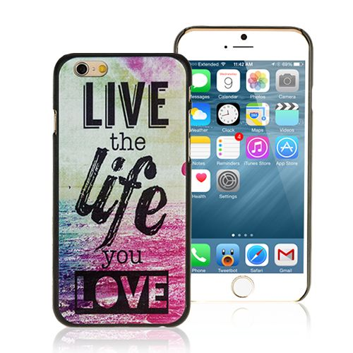 Live the life you love iPhone 6 Case <3 #livethelifeyoulove #quote #popular #cellz #case #accessories #iphone6case