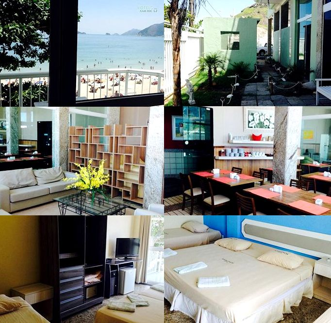 Book a room at Mykonos Hotel Residência Rio de Janeiro, Brazil for as low as $93! Click here now -- http://smarturl.it/MykonosResidencia