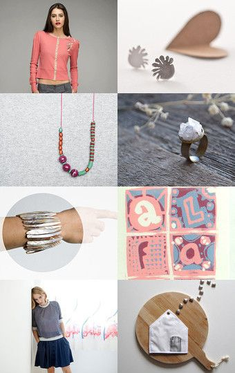 Peach Dreams by madlyvintage on Etsy--Pinned with TreasuryPin.com