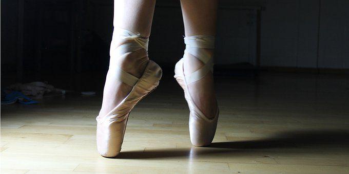 Μπαλέτο Πόδια, Παπούτσια Μπαλέτου